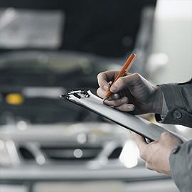 Selecteer auto reparatie datum